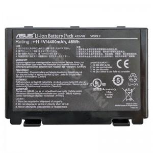 A32-F82 11.1V 4400mAh 46Wh 50%-os gyári használt laptop akkumulátor