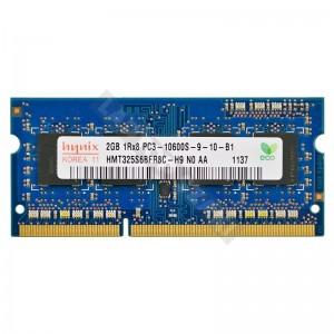 Hynix 2GB DDR3 1333MHz notebook memória (HMT325S6BFR8C)