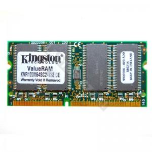 Kingston 128MB SD 100Mhz notebook memória