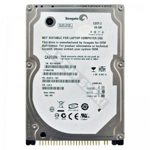 "Seagate ST980210A 80GB IDE 2,5"" használt laptop winchester"