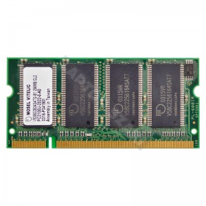 Mosel Vitelic 256MB DDR 266MHz notebook memória (V826632B24SATG-B1)