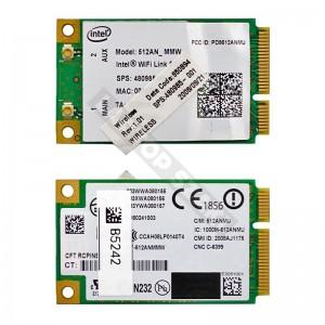 Intel Wifi Link 5100 802.11a/b/g mini PCI-E wifi kártya