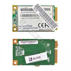 Ralink WN6600R 802.11b/g mini PCI-E wifi kártya