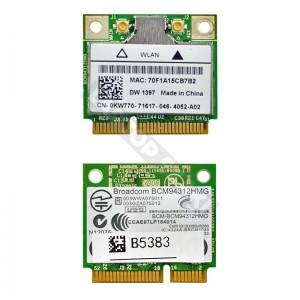Broadcom BCM94312HMG 802.11b/g mini PCI-E wifi kártya