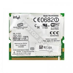 Intel M3AWEB56GA 802.11b mini PCI wifi kártya