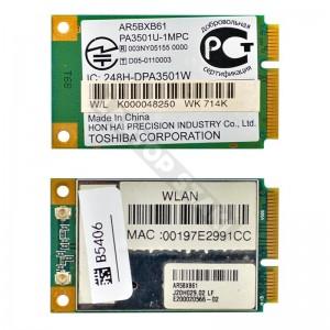 AzureWave AR5BXB61 802.11b/g mini PCI-E wifi kártya