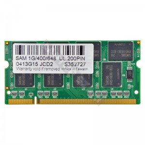 Samsung 1GB DDR 400MHz laptop memória (0413G15 JCD2)