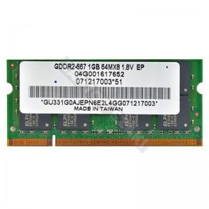 Elpida 1GB DDR2 667MHz notebook memória (04G001617652)