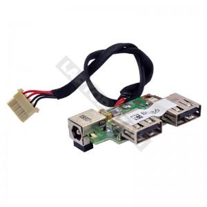 35GEP5000-20 használt USB + DC tápcsatlakozó panel + kábel