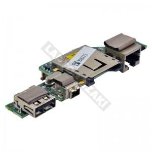 35G3P5000-20 használt USB + LAN + FireWire + kártyaolvasó panel
