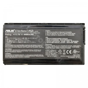 Asus F5 11.1V 4400mAh 49Wh gyári 70%-os használt laptop akkumulátor