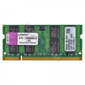 Kingston 2GB DDR2 667Mhz használt notebook memória (KVR667D2S5/2G)