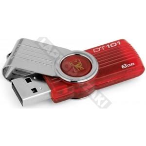 Kingston DataTraveler 101 8GB piros pendrive