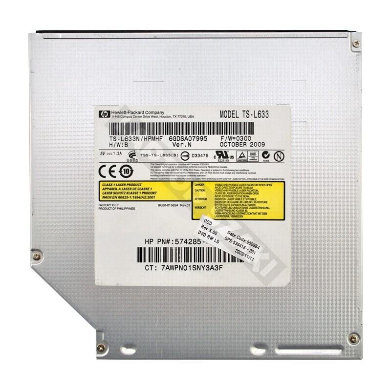HP Compaq 6730s HP-Toshiba 491272-001 TS-L633 használt SATA CD-RW DVD Combo 9fe13974d5