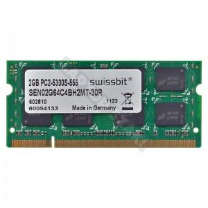 Swissbit 2GB DDR2 667MHz notebook memória (1112G14 JCC9)