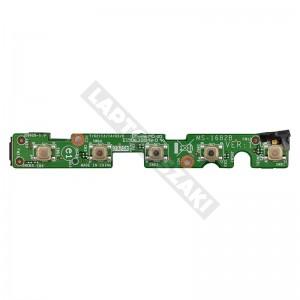 MS-1682B használt bekapcsoló + funkció gomb panel