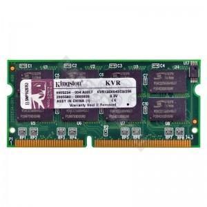 Kingston 256 MB SD RAM 133 MHz notebook memória