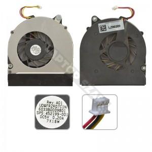 452199-001, UDQFRZR07C1N használt hűtés, ventilátor