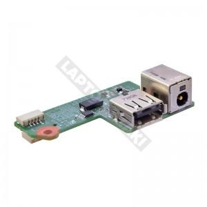 431445-001 használt USB + DC tápcsatlakozó panel