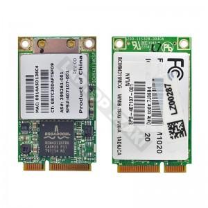 Broadcom BCM4311KFBG, 407107-001 802.11b/g mini PCI-E wifi kártya