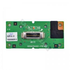 6050A2044001-FPB-A03 használt ujjlenyomat olvasó panel