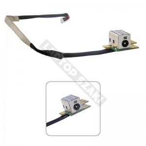 432985-001 használt DC tápcsatlakozó + kábel