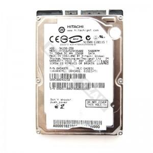 """Hitachi HTS542525K9SA00 250GB SATA 2,5"""" használt laptop winchester"""