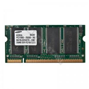 Samsung 256MB DDR 266MHz laptop memória (M470L3224DT0-CB0)