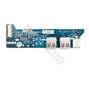 435988BOL22 C2 használt USB + bekapcsoló panel