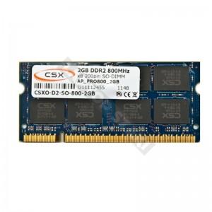 CSX 2GB DDR2 800MHz notebook memória (CSXO-D2-SO-800-2GB)