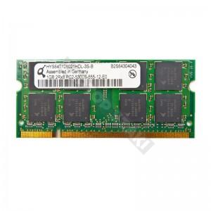 Qimonda 1GB DDR2 667MHz notebook memória (HYS64T128021HDL-3S-B)