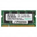 Apacer 128MB DDR 266MHz notebook memória