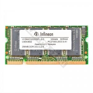 Infineon 256MB DDR 333MHz notebook memória (HYS64D32020GDL-6-C)