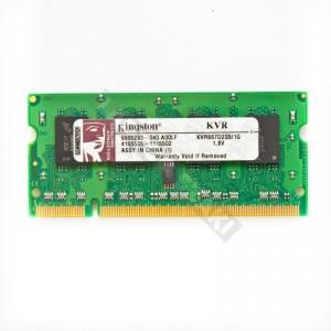 Kingston 1GB DDR2 667MHz notebook memória (KVR667D2S5/1G)