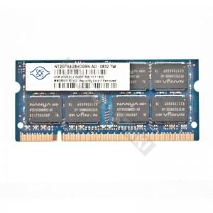 Nanya 2GB DDR2 800MHz notebook memória (NT2GT64U8HD0BN-AD)