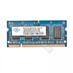 Nanya 1GB DDR2 800MHz notebook memória (NT1GT64UH8D0FN-AD)