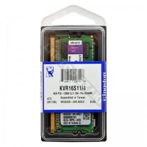 Kingston 4GB DDR3 1600MHz notebook memória (KVR16S11S8/4)