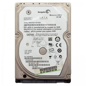 "Seagate ST9160310AS 160GB SATA 2,5"" használt laptop winchester"