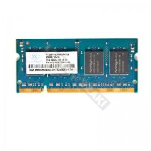 Nanya 256MB DDR2 400Mhz laptop memória (NT256T64UH4A0FN-5A)