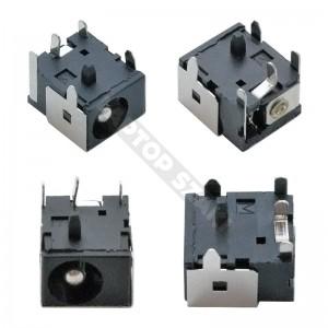 DC tápaljzat 022 (6.0x2.5mm)