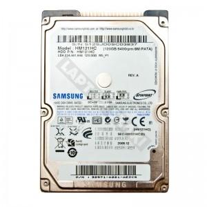 "Samsung HM121HC 120GB IDE 2,5"" használt laptop winchester"