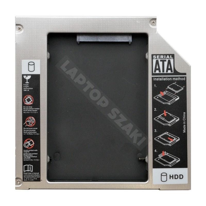 8d99e006237e IDE 2nd HDD/SSD caddy, második winchester beépítő keret (12.7mm)