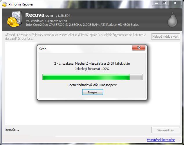 akár 100 videó visszaállítása